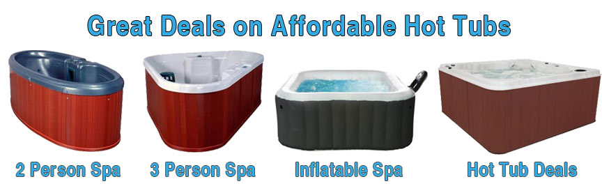 Get a great deal on an affordable hot tub spa.