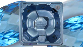 QCA Juno Topaz 6 person hot tub