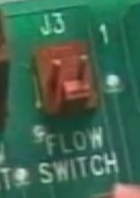 Flow Switch on Circuit Board