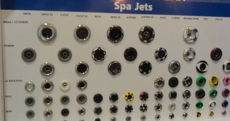 Jet board at Hot Tub Spa Tips