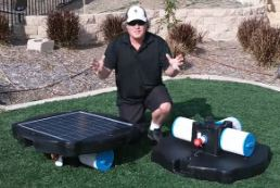 Solar Pool Pump Kit