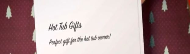 Hot tub gifts online