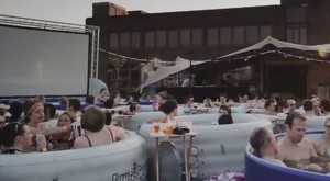 Hot Tub Cinema in London