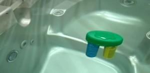 floating spa frog dispenser