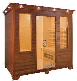 infrared sauna cabins